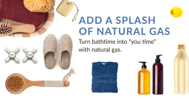 Add a Splash of Natural Gas