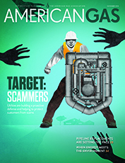 November 2018: American Gas magazine cover